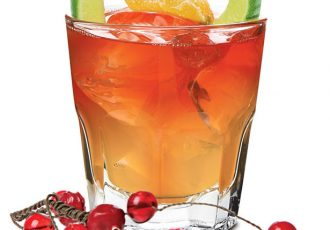 The red Rocker - Tequila drink for the holidays